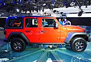 Jeep展台:全新一代牧马人、大指挥官PHEV首秀