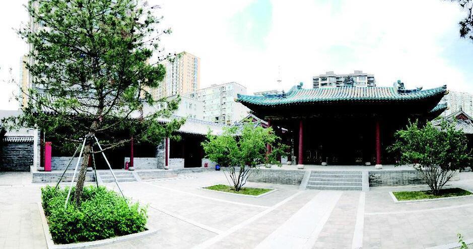 普光寺经过修缮保护再度向公众敞开大