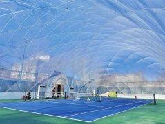 全透明气膜体育馆建成 不久将向公众开放